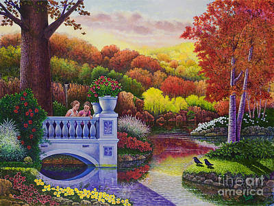 Painting - Princess Gardens by Michael Frank
