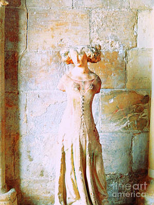 Princess In The Shadow Of Antiquity Art Print