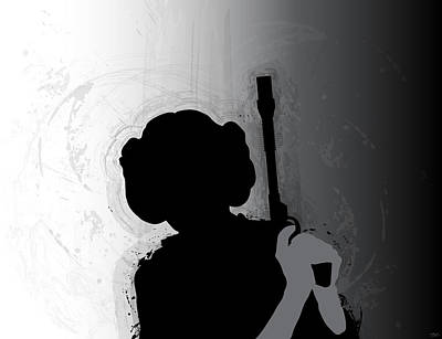 Alliance Digital Art - Princess Leia by Nathan Shegrud