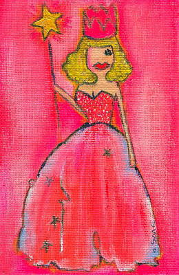 Little Girls98 Painting - Princess Lepore by Ricky Sencion