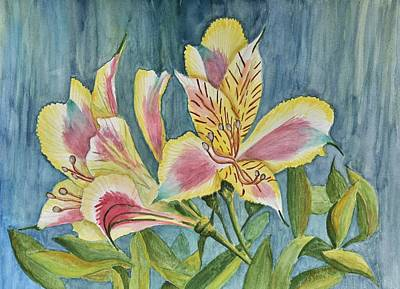 Princess Lily Watercolor Original