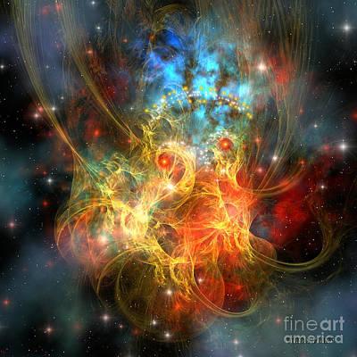 Princess Nebula Art Print