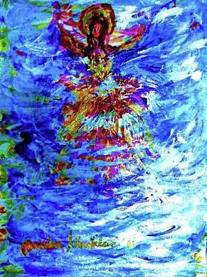 Painting - Princess Of The Wave by Wanvisa Klawklean