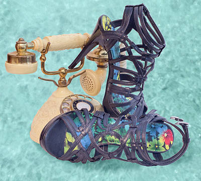 Photograph - Princess Sandals by Patti Deters