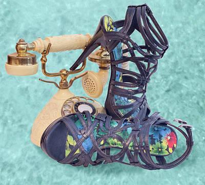 Photograph - Princess Sandals by Patti Deters