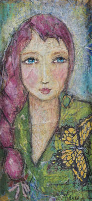 Painting - Princess Shyness by Laura K Aiken