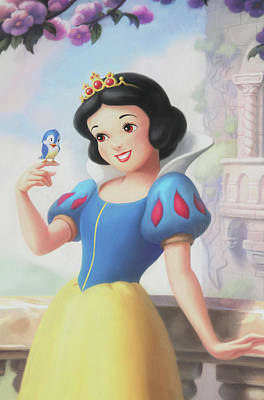 Princess Snow White Art Print