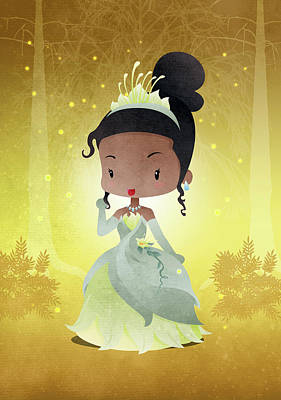 Princess Teeana Art Print
