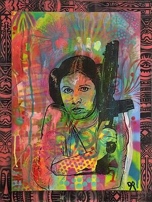 Mixed Media - Princess Tribal by Dean Russo