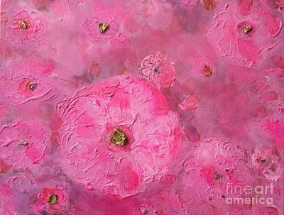 Florence Biennale Painting - Princesse Of Roses by Aase Birkhaug