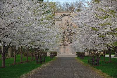 Princeton Photograph - Princeton Battle Monument Spring 2015 by Steven Richman
