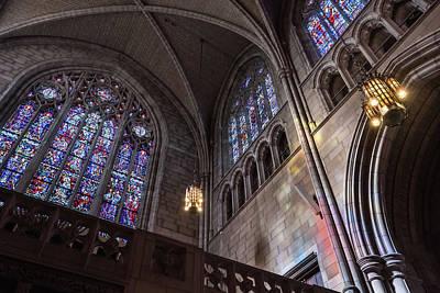 Photograph - Princeton Chapel by Glenn DiPaola