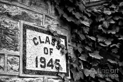 Photograph - Princeton Class Of 1945 by John Rizzuto