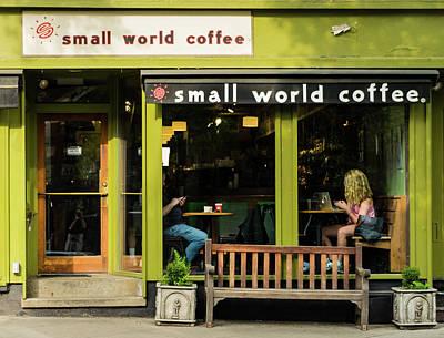 Photograph - Princeton Coffeehouse by Steven Richman