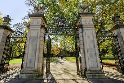 Photograph - Princeton Entrance Gate by Glenn DiPaola