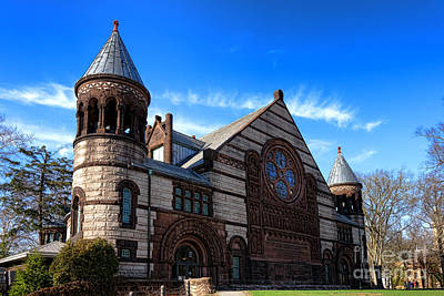 Photograph - Princeton University Alexander Hall  by Olivier Le Queinec