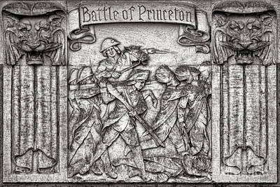 Photograph - Princeton University Battle Commemorative Plaque by Olivier Le Queinec