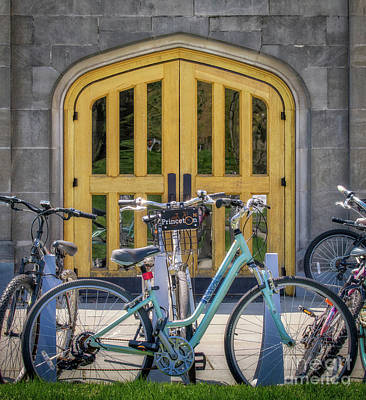 Photograph - Princeton University Bike by Jerry Fornarotto
