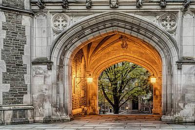 Photograph - Princeton University Blair Hall Arch by Susan Candelario