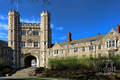 Photograph - Princeton University Buyers Hall  by Olivier Le Queinec