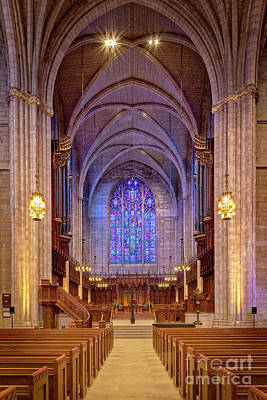 Photograph - Princeton University Chapel by Jerry Fornarotto