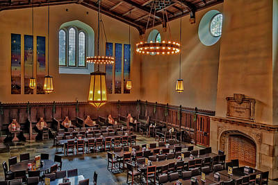 Photograph - Princeton University Community Hall by Susan Candelario
