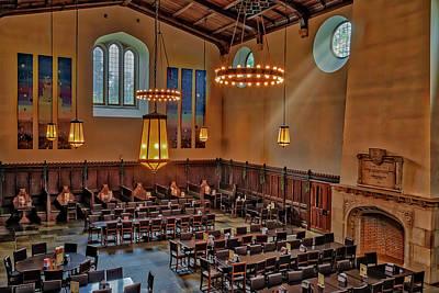 Old Photograph - Princeton University Community Hall by Susan Candelario