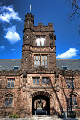 Photograph - Princeton University East Pyne Hall  by Olivier Le Queinec
