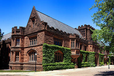 Photograph - Princeton University East Pyne Hall South East Corner by Olivier Le Queinec