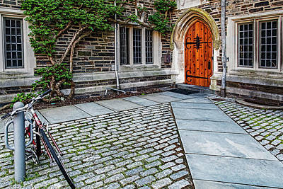 Art Print featuring the photograph Princeton University Foulke Hall by Susan Candelario