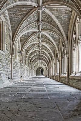 Photograph - Princeton University Hallway II by Susan Candelario