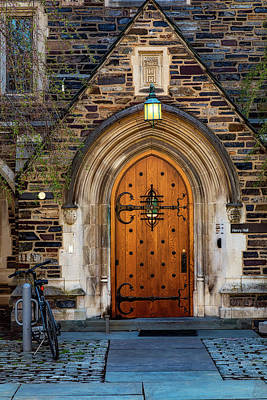Art Print featuring the photograph Princeton University Henry Hall by Susan Candelario