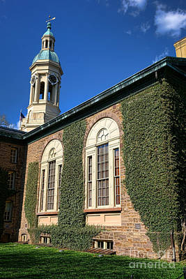 Photograph - Princeton University Nassau Hall Cupola by Olivier Le Queinec