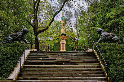 Photograph - Princeton University Nassau Hall II by Susan Candelario