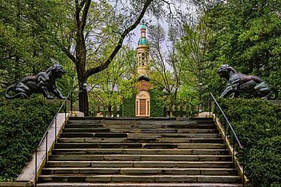 Photograph - Princeton University Nassau Hall II by Susan Candelario