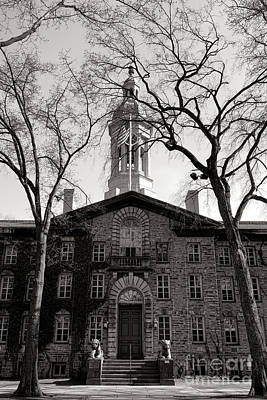 Photograph - Princeton University Nassau Hall  by Olivier Le Queinec