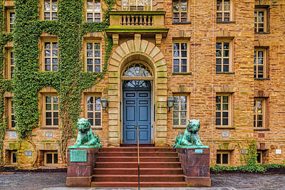 Photograph - Princeton University Nassau Hall by Susan Candelario