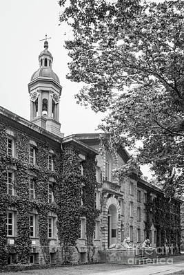 Princeton University Nassau Hall Art Print by University Icons
