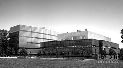 Photograph - Princeton University Neuroscience Institute And Peretsman Scully by Olivier Le Queinec