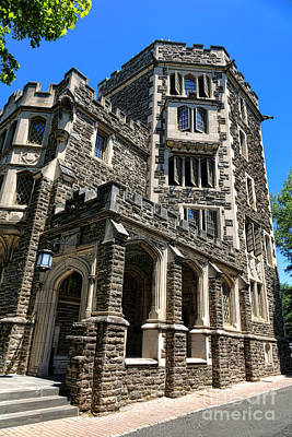 Photograph - Princeton University Patton Hall by Olivier Le Queinec