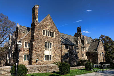 Photograph - Princeton University Pyne Hall by Olivier Le Queinec