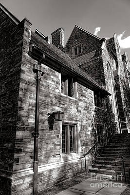 Photograph - Princeton University Pyne Hall Stairs by Olivier Le Queinec