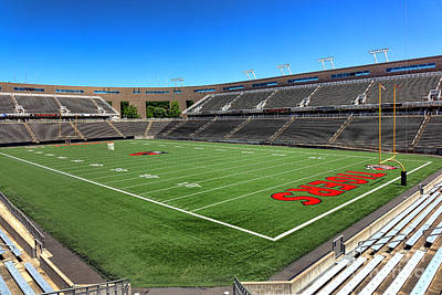 Photograph - Princeton University Stadium Powers Field by Olivier Le Queinec