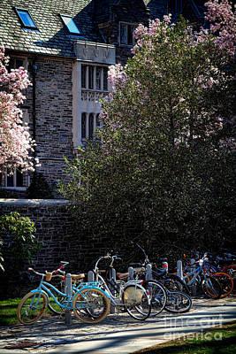Rack Photograph - Princeton University Student Life by Olivier Le Queinec
