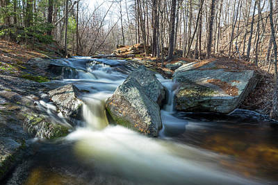 Photograph - Princeton Waterfall 1 by Brian Hale