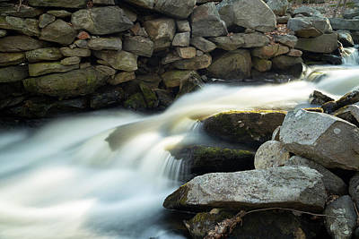 Photograph - Princeton Waterfall 2 by Brian Hale