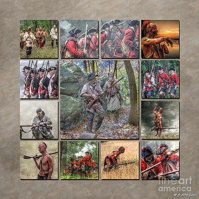 Print Collection French And Indian War Art Print by Randy Steele
