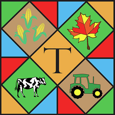 Photograph - Barn Quilt by Dan Traun
