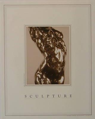 Print Of Sculpture By The Artist Art Print by Gary Kaemmer