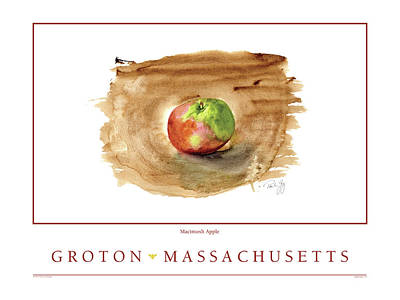 Digital Art - Groton, Massachusetts by Paul Gaj